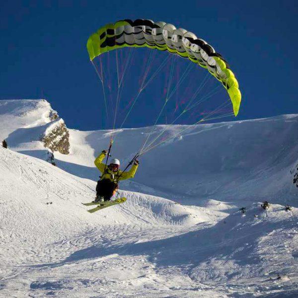 ski parapente grand-bornand