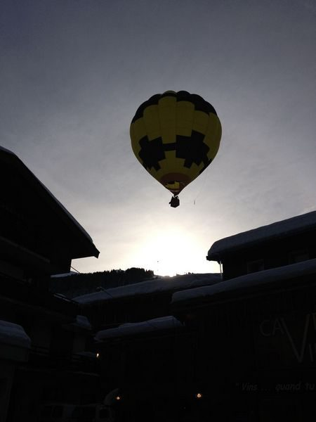 montgolfière hiver grand-bornand