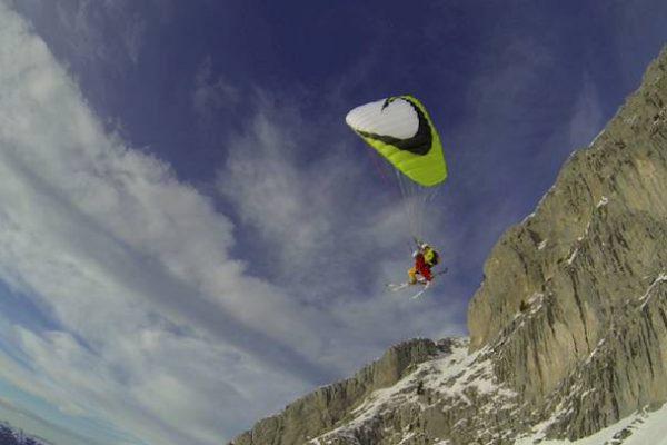 Paragliding in La Clusaz - Grand-Bornand