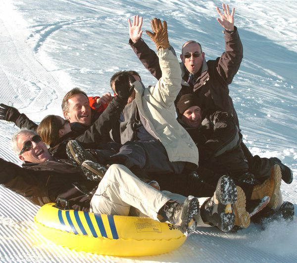 Challenge des neiges teambuilding Grand Bornand