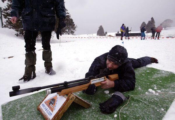 biathlon tir couché homme