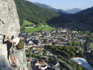 Via ferrata et escalade Grand-Bornand