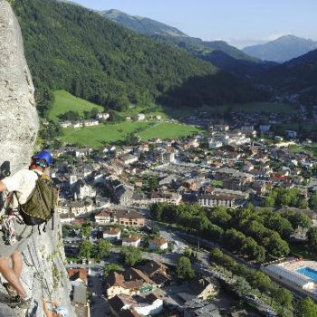 Via ferrata et escalade Grand-Bornand