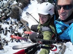 ski-parapente-grand bornand